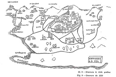 antivari old map